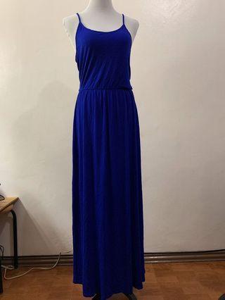 H&M // long dress