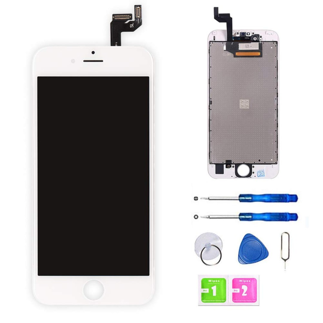 info for 353e9 58fda 793) Screen Replacement for iPhone 6S (4.7 Inch) White