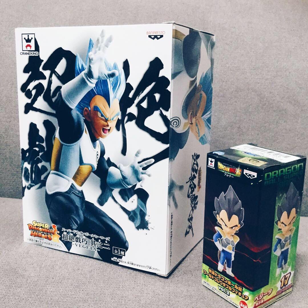👊 Dragon Ball Super: Broly Ultimate Soldiers - Super Saiyan Blue Transcendent Vegeta 👊