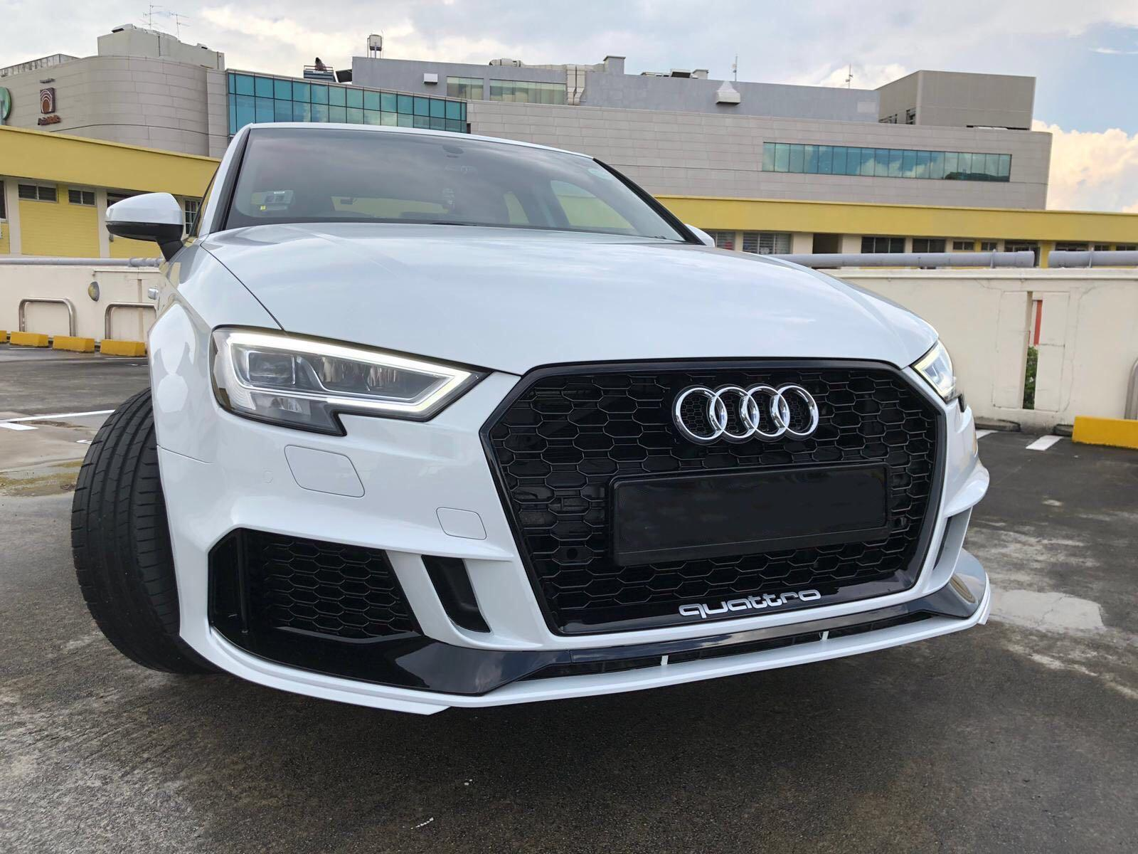 Audi A3 8V RS3 Bodykit, Car Accessories, Accessories on