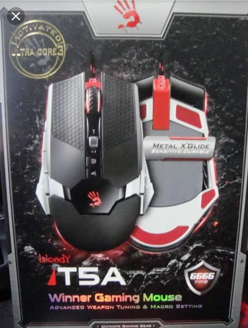 Bloody T5A Gaming mouse on Carousell