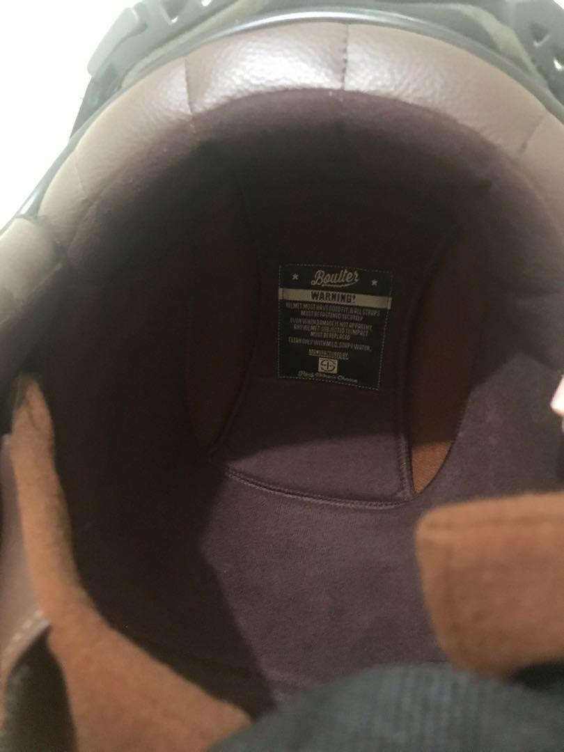 Boulter Helmet Plus Visor