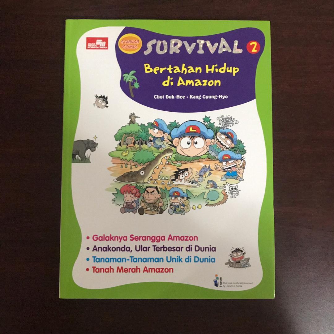 Buku Anak SURVIVAL 2 : Bertahan Hidup di Amazon