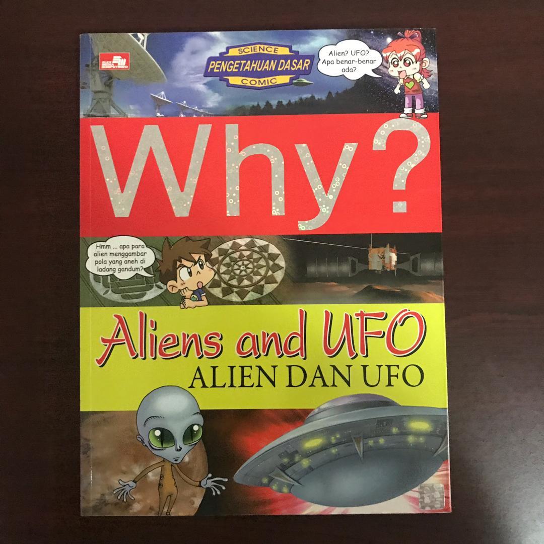 Buku Anak WHY? ALIEN DAN UFO