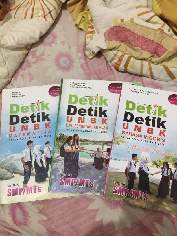Buku detik-detik UN SMP