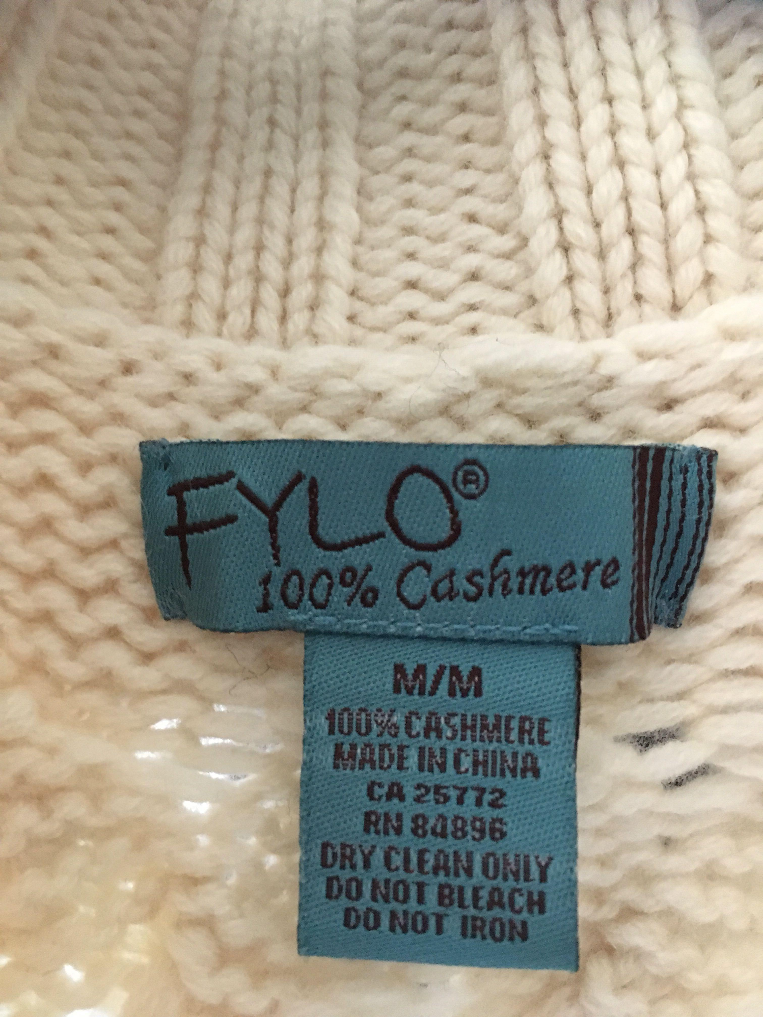Cashmere 3ply sweater