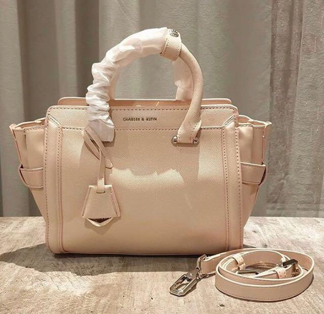 Charles and Keith Trapeze Bag