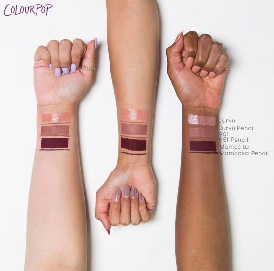 Colourpop x Iluvsarahii 951 ultra satin liquid lipstick and liner
