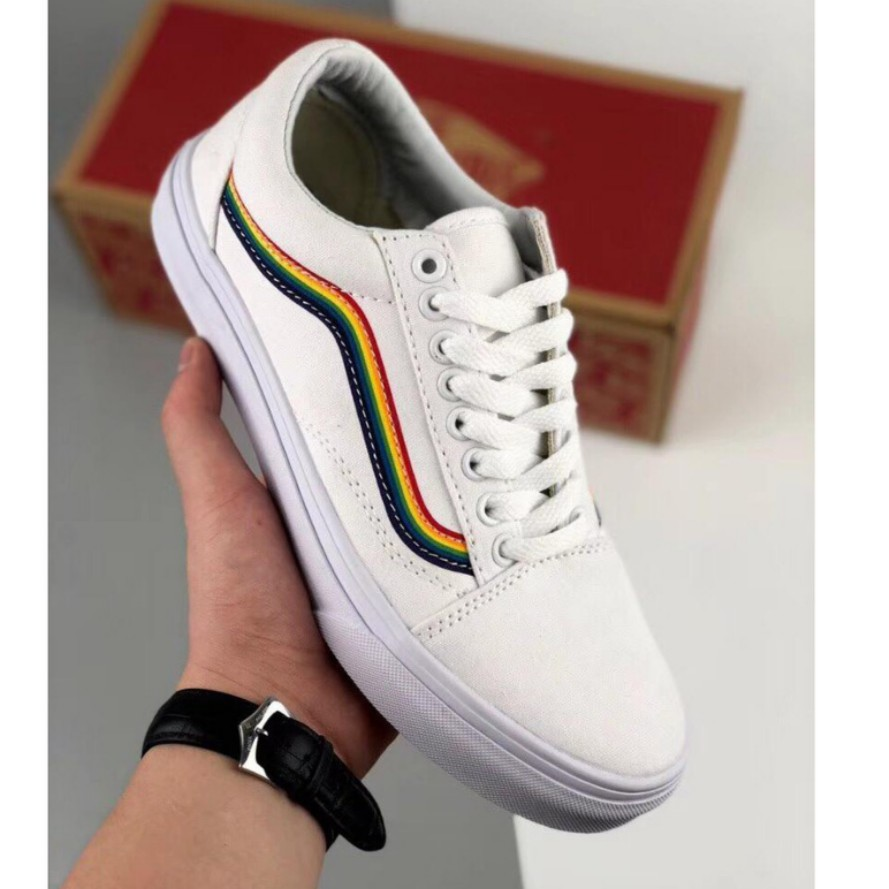 Custom Rainbow Vans (PREORDER), Men's