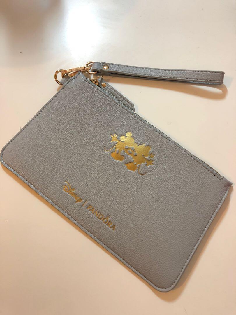 Disney x Pandora Limited Edition Grey Medium Size Pouch