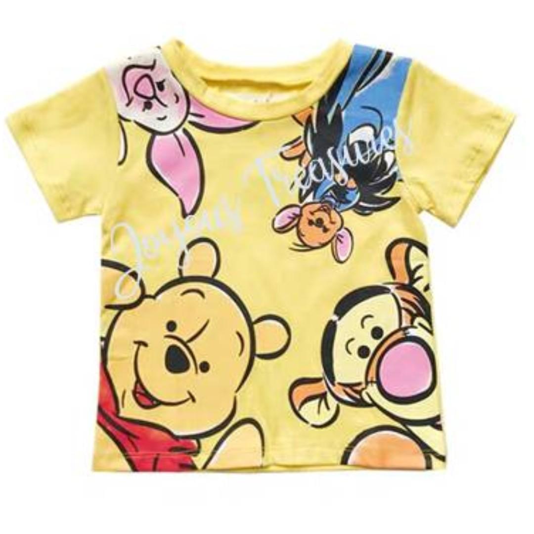 Disney Girls Winnie The Pooh Classic Eeyore T-Shirt