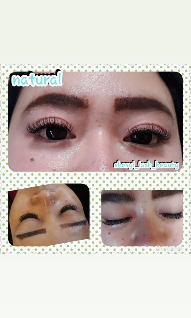 Eyelash natural