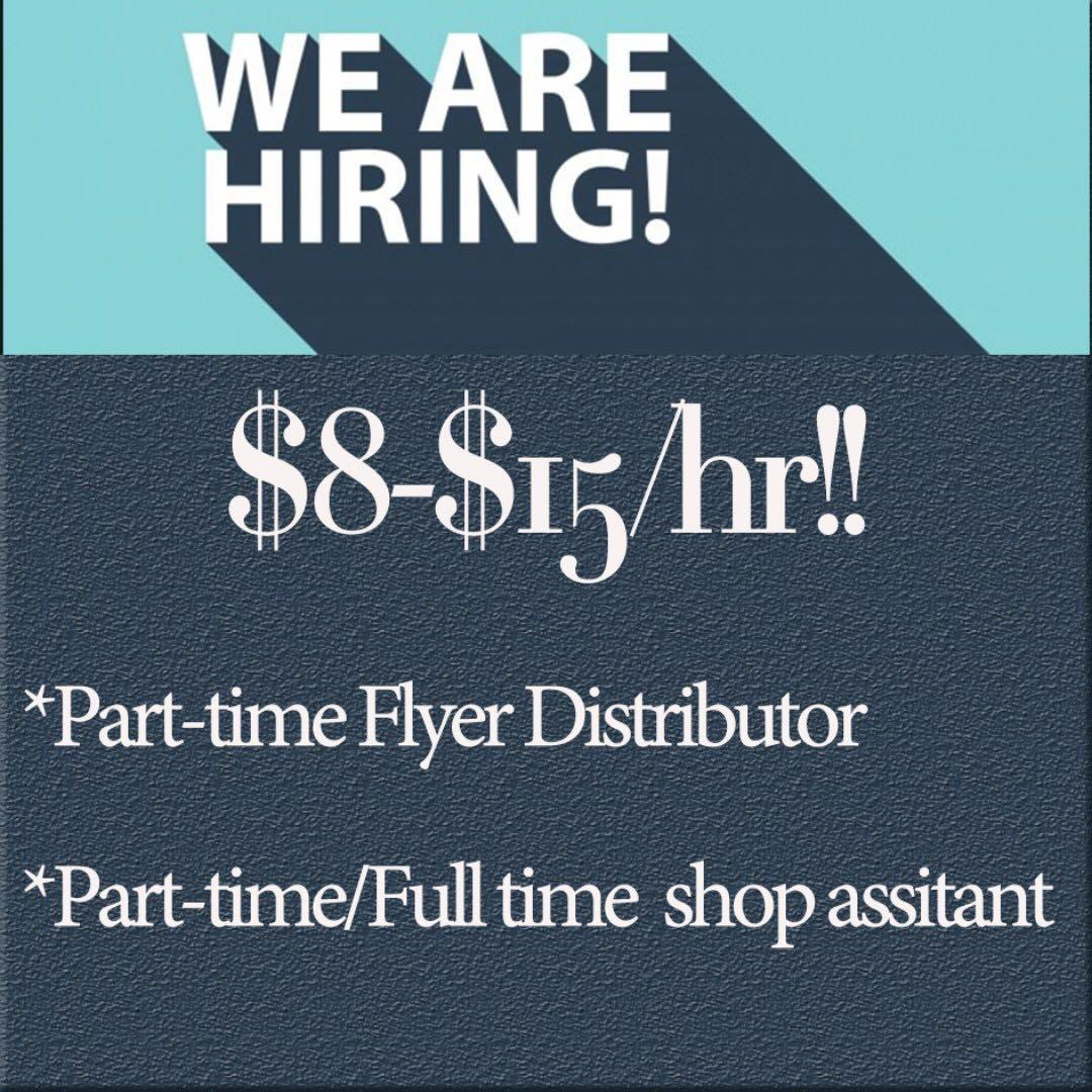 Flyer Distributor & Retail Assistant
