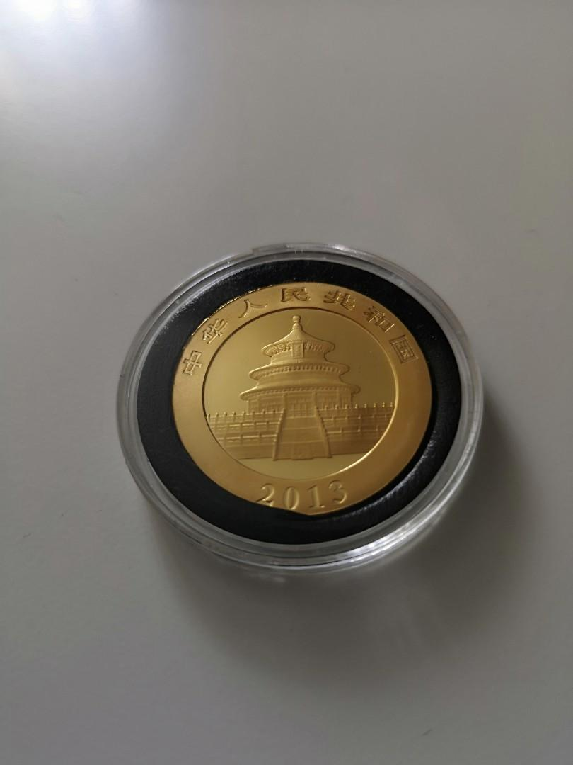 Gold panda coin 1oz 2013