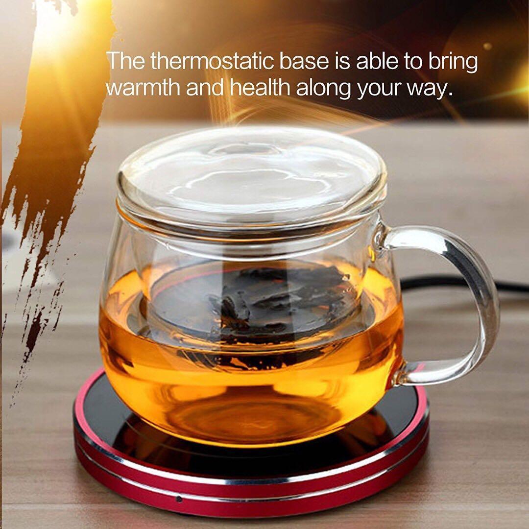 ian Cup Mug Warmer (18W) - Red Pink
