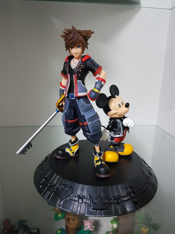 Banpresto Ichiban Kuji Kingdom Hearts 3 III A SORA /& THE KING MICKEY FIGURE JPN