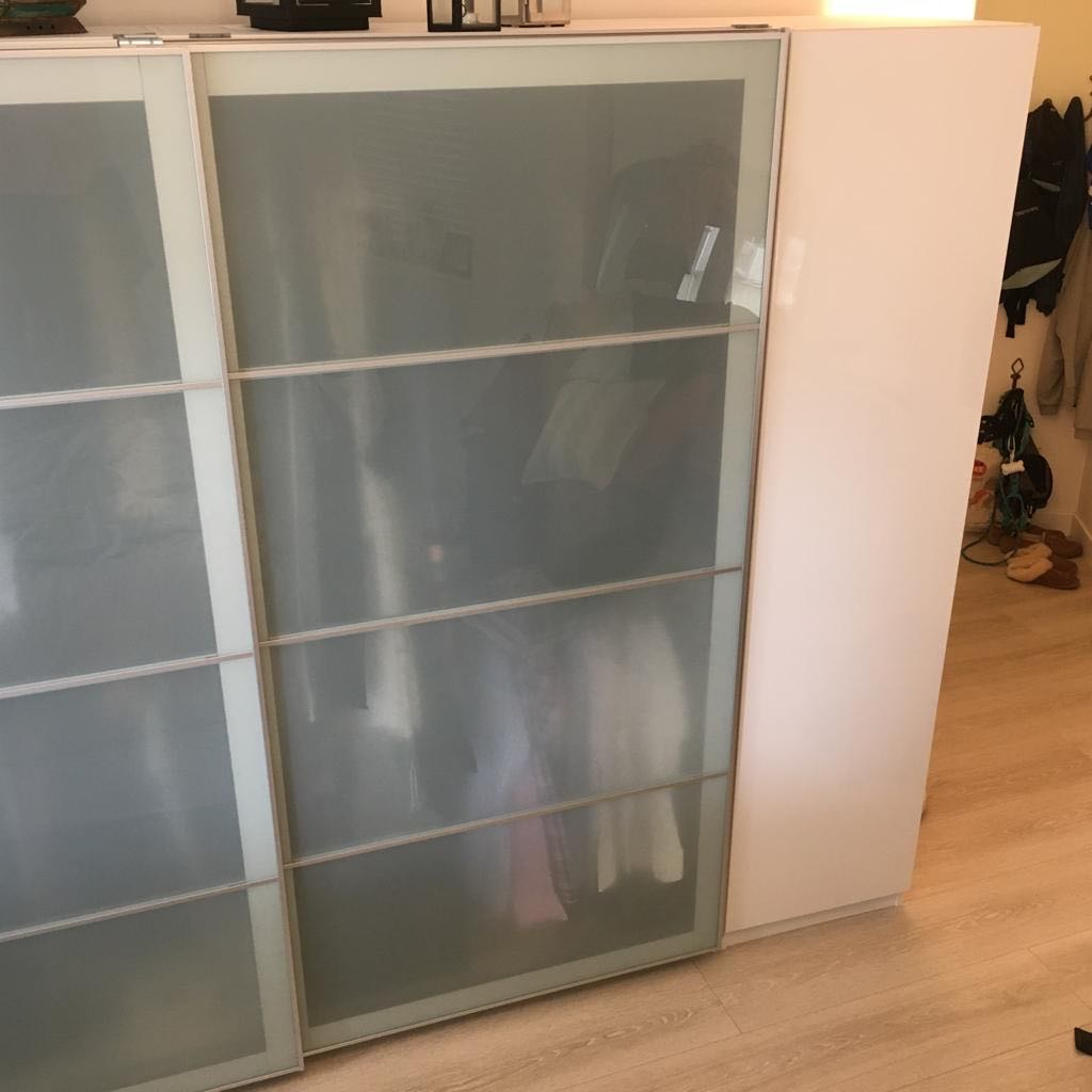 finest selection 2caef 1f9e7 IKEA Pax with Sekkan and Fardal Doors