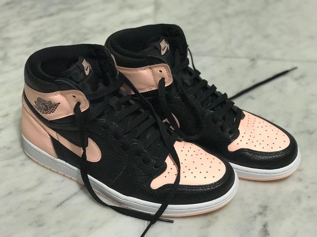 d7aa046e Jordan 1 Retro High Black Crimson Tint, Men's Fashion, Footwear ...