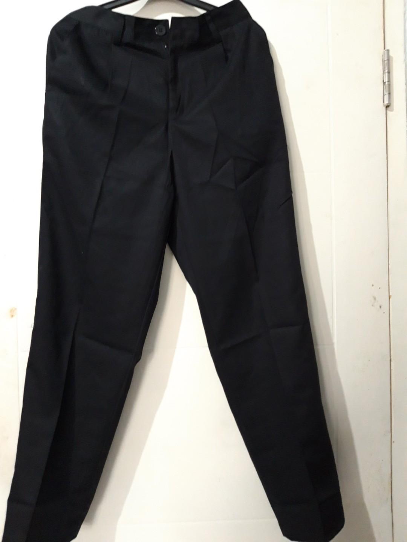 JUMBO BAGGY PANTS BLACK
