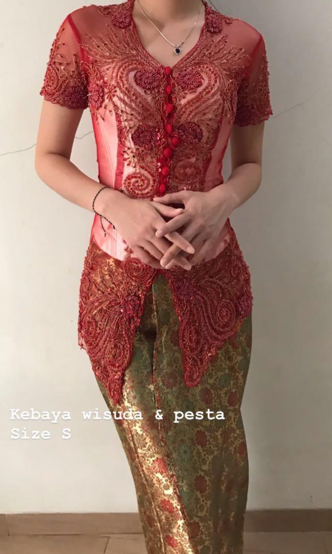 Kebaya Pesta Wisuda Payet Women S Fashion Women S Clothes Dresses