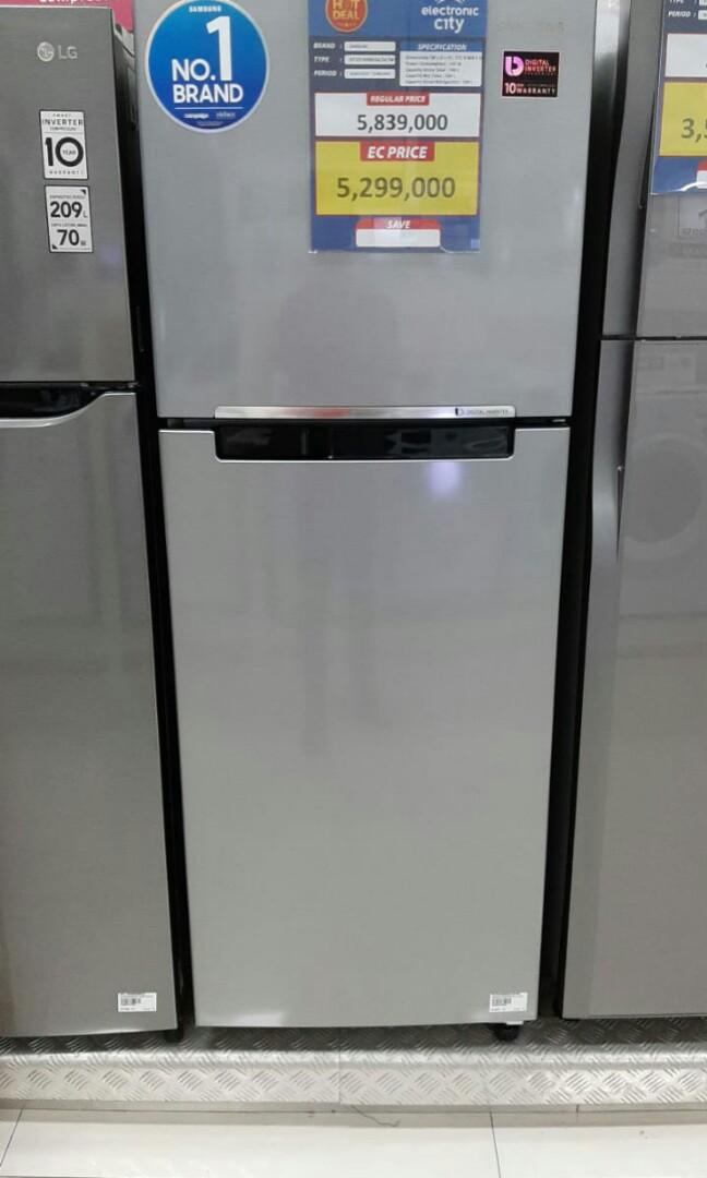 Kulkas 2 Pintu Samsung bisa kredit tanpa cc