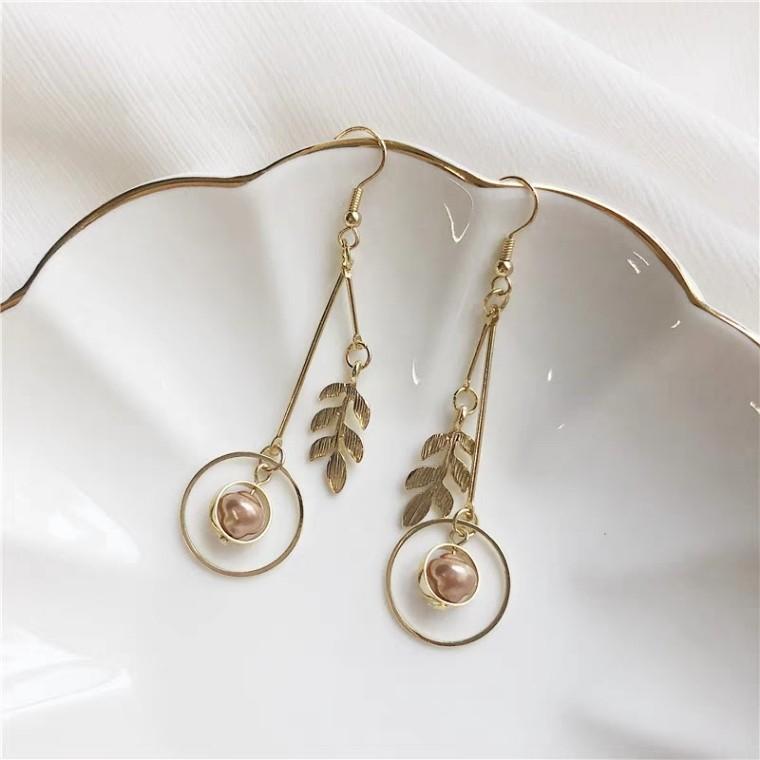 Marble Tree Earring