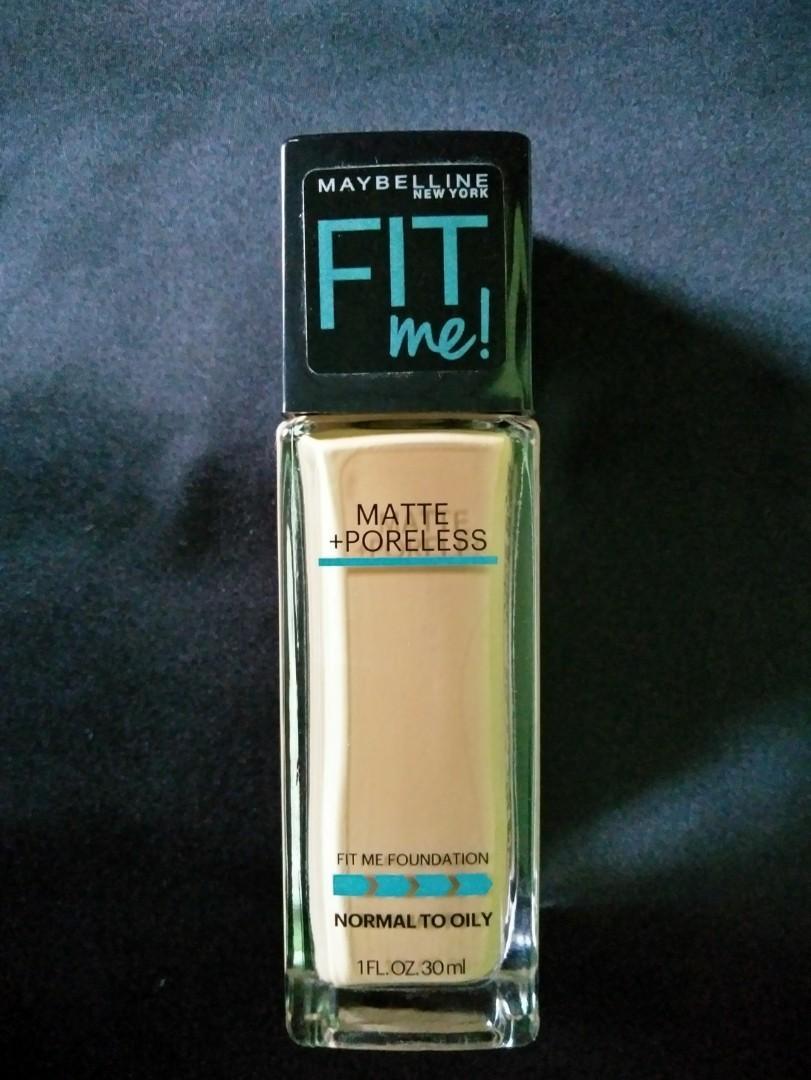 [REPRICE] Maybelline Fit Me Matte Poreless Foundation 228