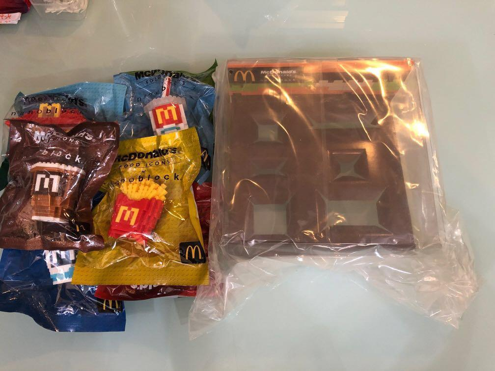 McDonald's Food Icon nanoblock