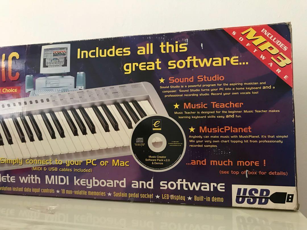Midi keyboard on Carousell