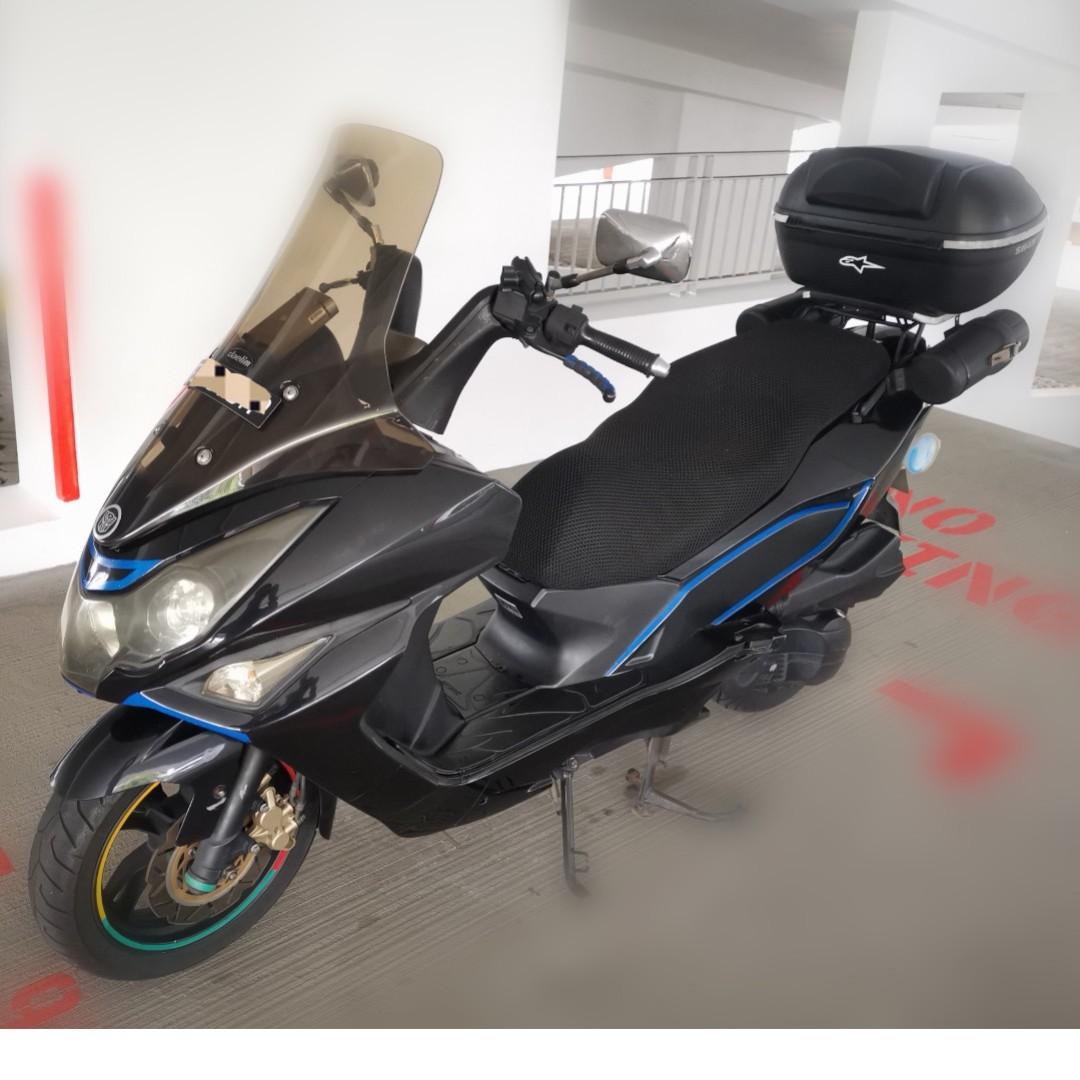 Motorbike/Motorcycle/Scooter - DAELIM S3 SV125 CVT