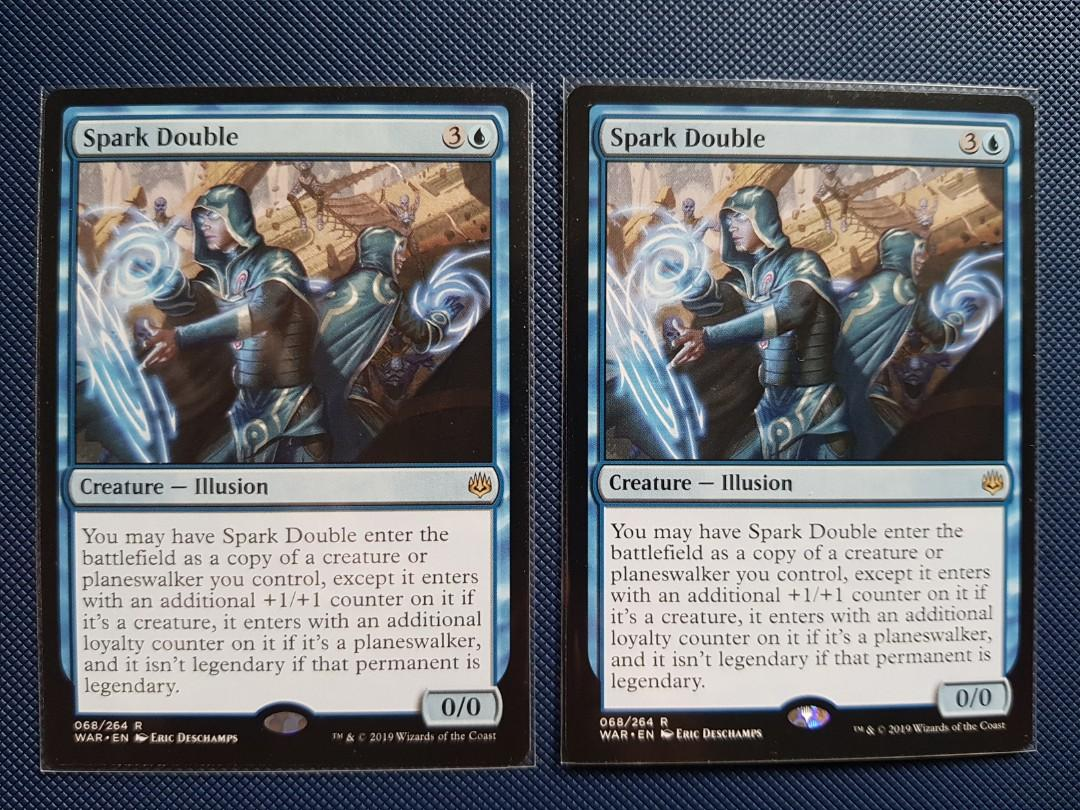 NM//M MTG War of The Spark: Spark Double 068//264 Rare
