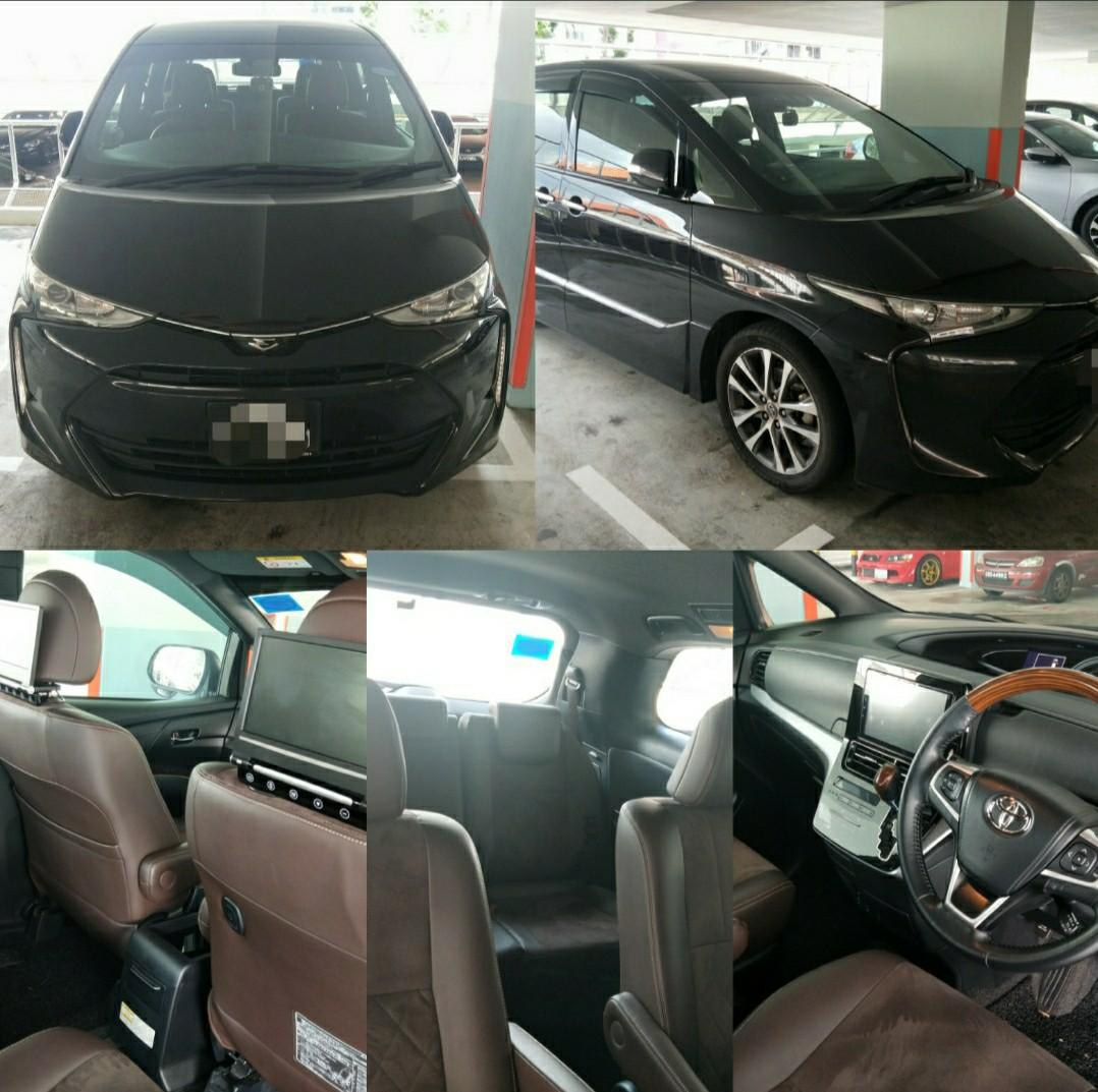 New Toyota Estima for rent/LTO