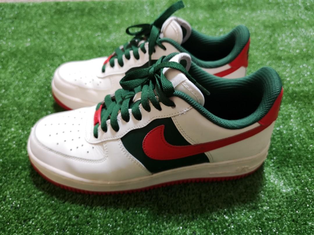 e0e4003a1ca48 Nike ID custom Air Force 1 x Gucci, Men's Fashion, Footwear, Sneakers on  Carousell
