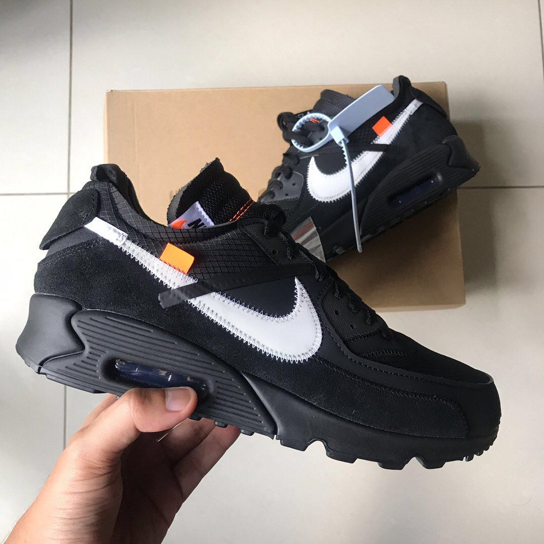 superior quality 3e4ba 72112 Off White Nike Air Max 90