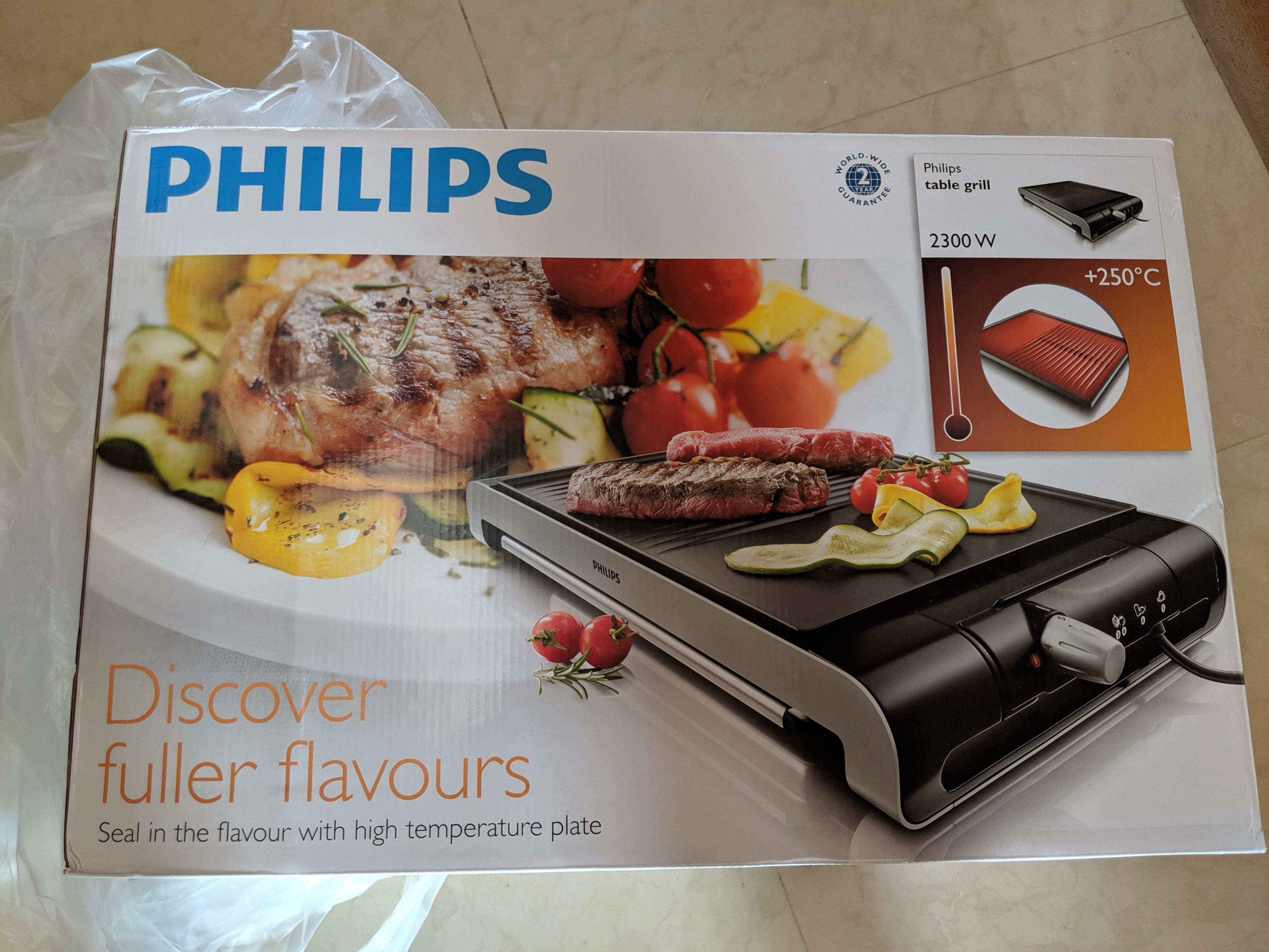 Philips Table Grill HD4419/20