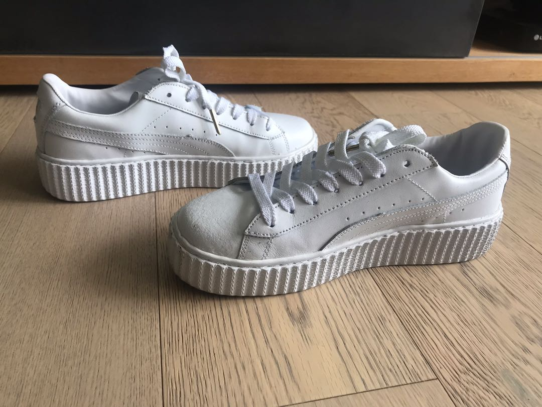 rihanna platform sneakers