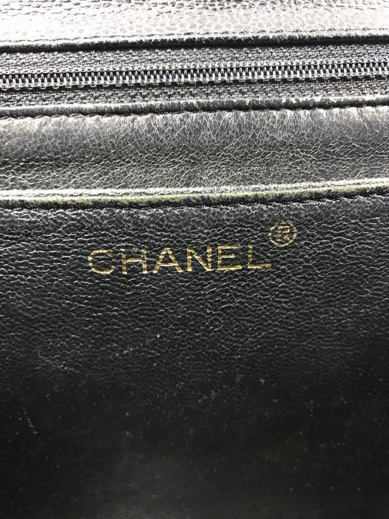 RARE ITEM HARD TO FIND AUTHENTIC Preloved CHANEL Kelly Medium vintage #6