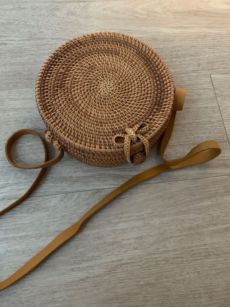 Round Rattan Pre loved