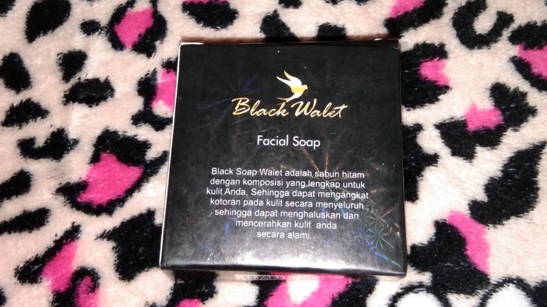 Sabun muka black walet