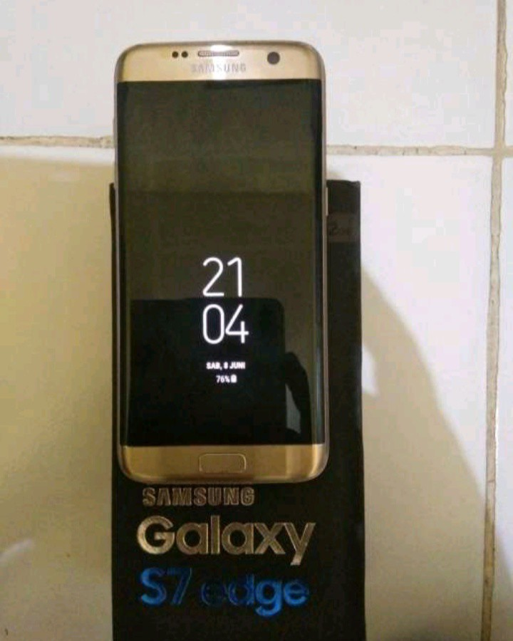 Samsung Galaxy S7 Edge dus dan unit only