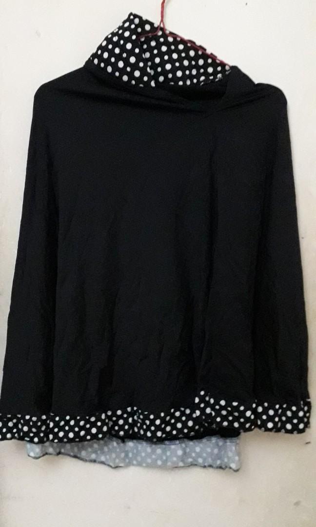Satu Set Gamis Plus Jilbab