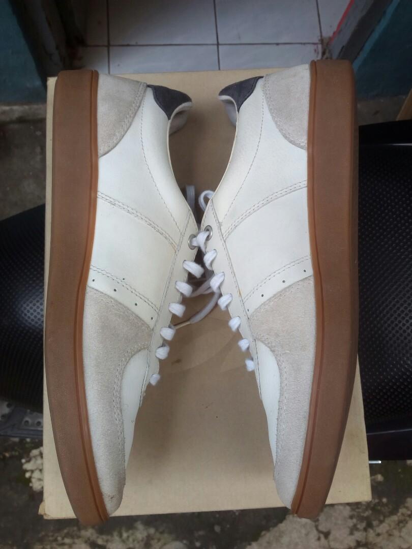 Sepatu fred perry original size 43 made in vietnam lengkap dengan box
