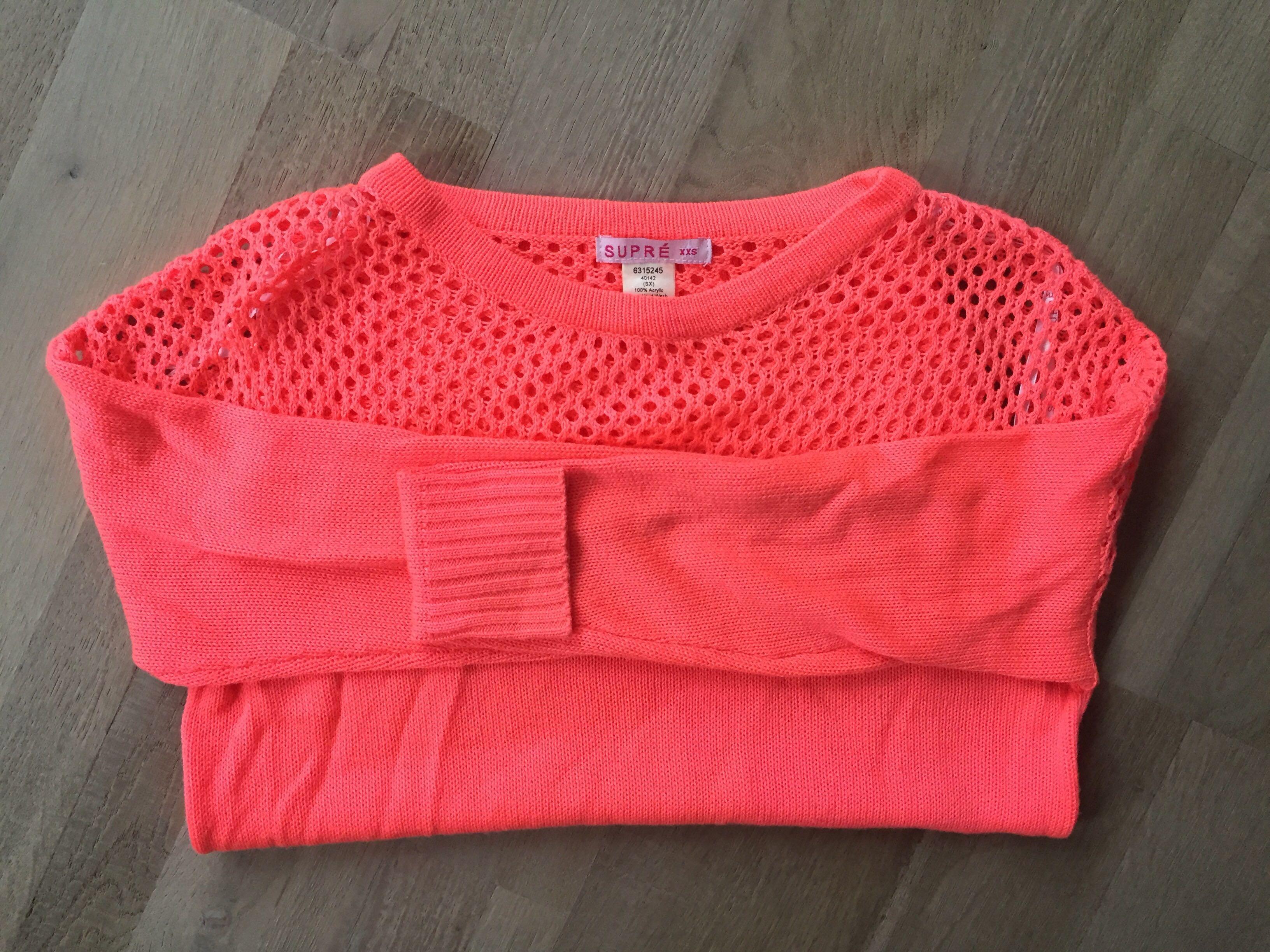 ❤️Size xxs (6)bright pink jumper. Excellent condition