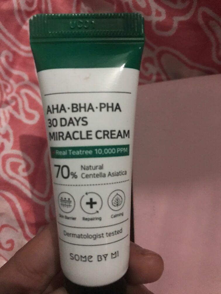 Some by me miracle cream