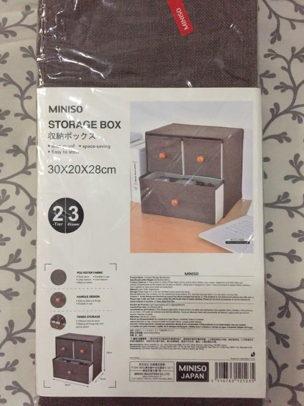 Storage Box 3 Drawers