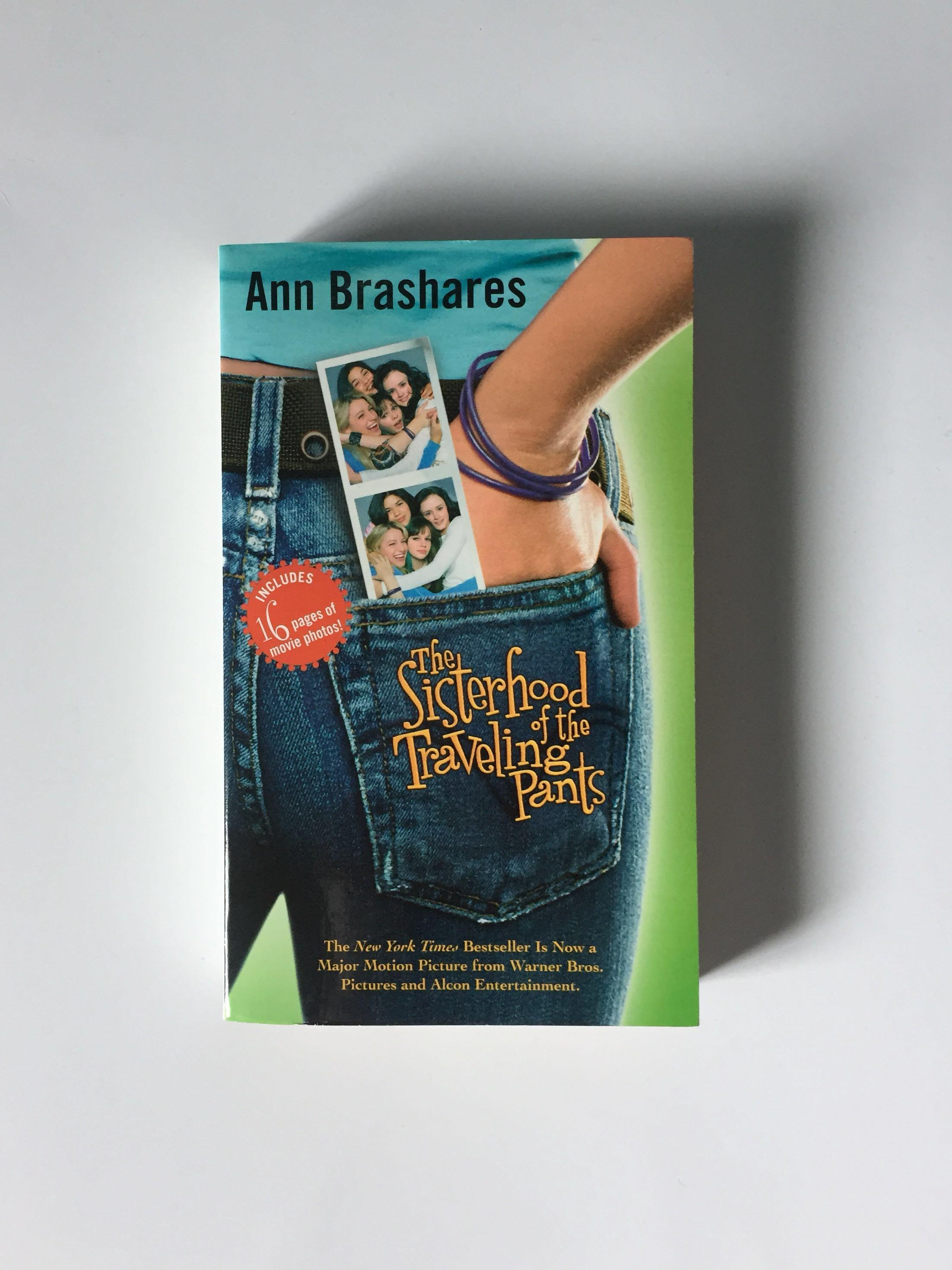 The Sisterhood of Travelling Pants book (with pictures)