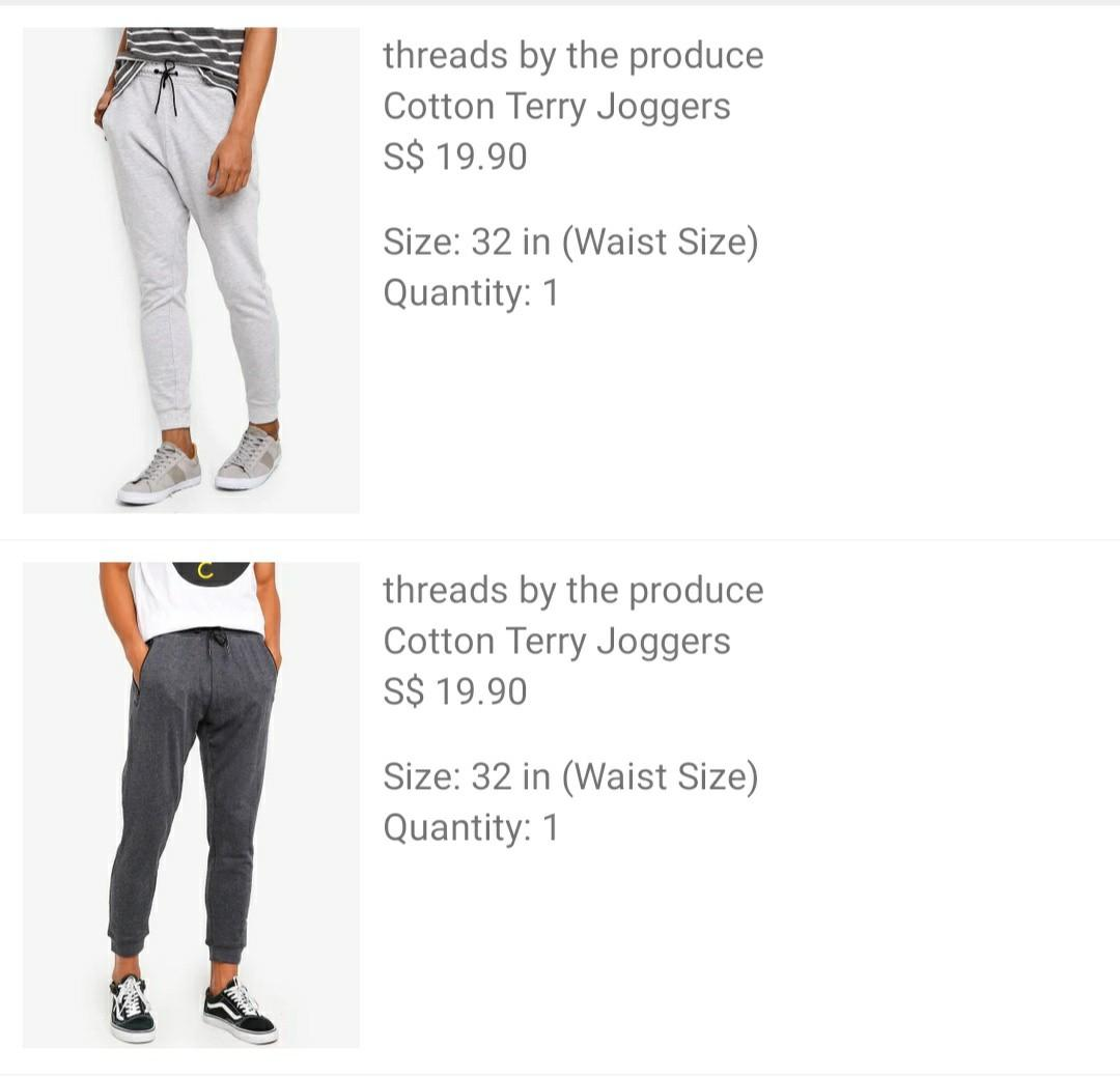 Threads by the produce - Cotton Terry Joggers