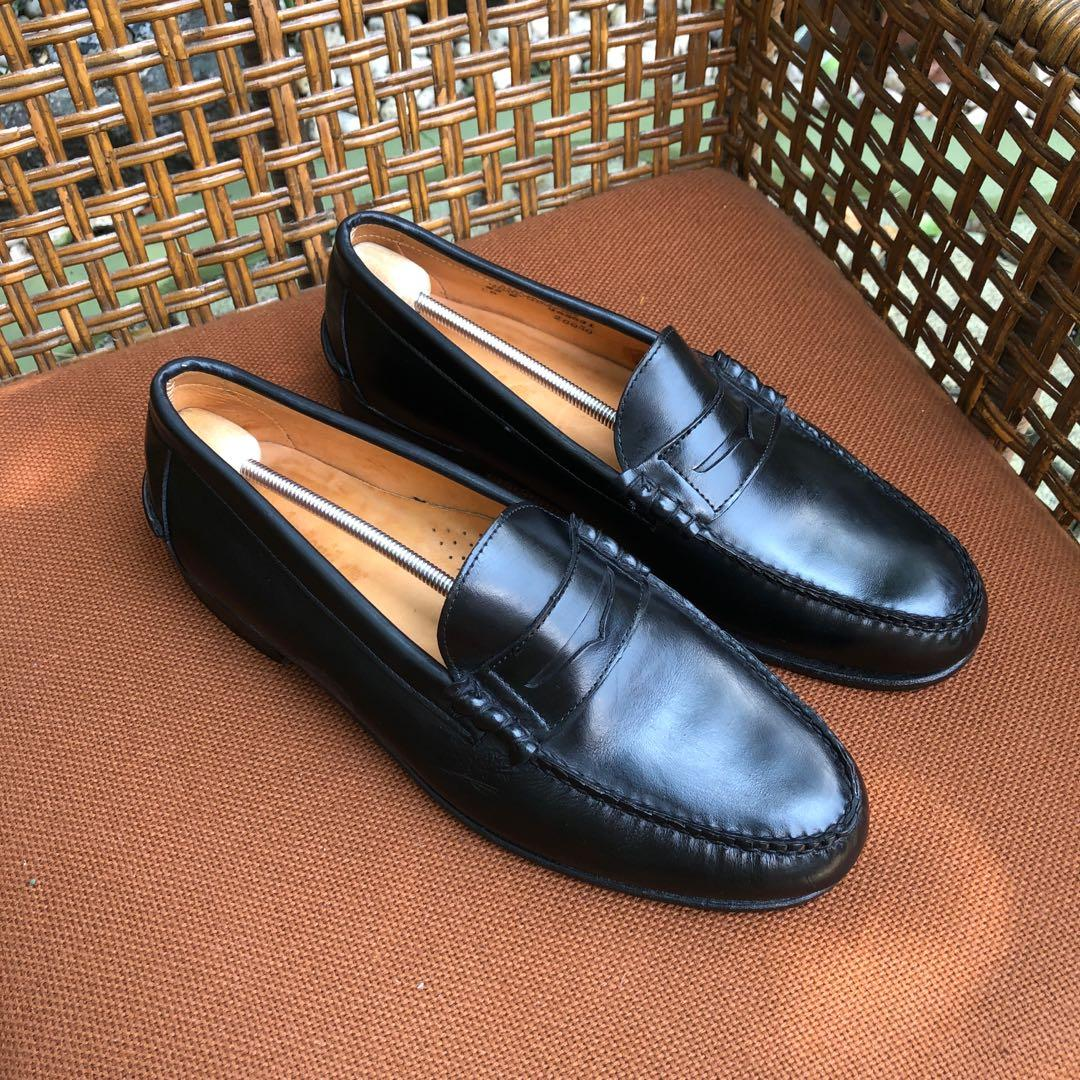 Timberland Black Penny Loafers, Men's