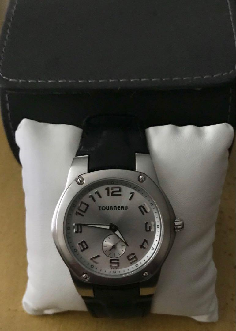 Tourneau Men's Watch, Men's Fashion, Watches on Carousell