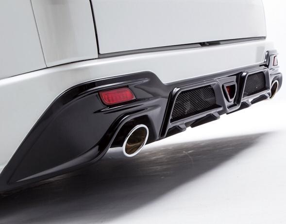 Toyota HiAce - Essex Type E Rear Bumper
